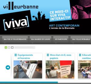 Site web de Villeurbanne