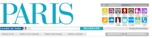 Site web de la mairie de Paris