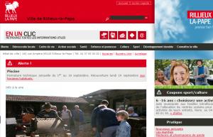 site web de Rillieux la pape