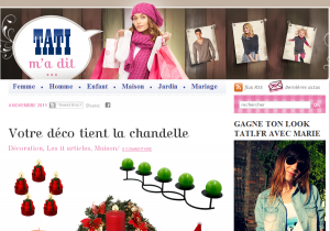 Blog du site ecommerce Tati